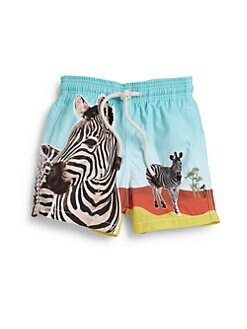 Vilebrequin - Little Boy's Zebra Swim Trunks