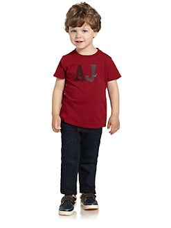 Armani Junior - Toddler's & Little Boy's AJ Cotton Tee