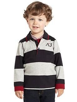 Armani Junior - Toddler's & Little Boy's Striped Polo Shirt
