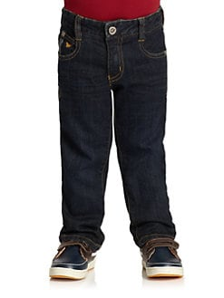Armani Junior - Toddler's & Little Boy's Stonewashed Jeans
