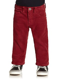 Armani Junior - Toddler's & Little Boy's Corduroy Pants