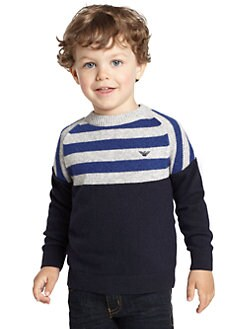 Armani Junior - Toddler's & Little Boy's Pullover Sweater