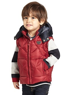 Armani Junior - Toddler's & Little Boy's Puffer Vest