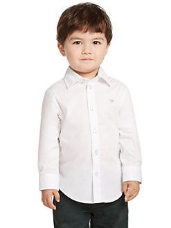 Armani Junior - Toddler's & Little Boy's Dress Shirt