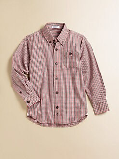 Hartstrings - Toddler's & Little Boy's Plaid Button-Down Shirt