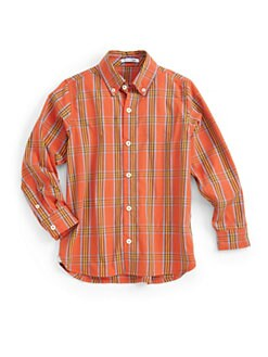 Hartstrings - Toddler's & Little Boy's Plaid Shirt