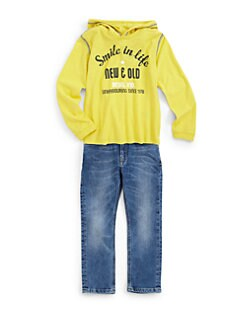 Diesel - Toddler's & Little Boy's Smiley Hoodie