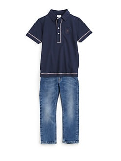 Diesel - Toddler's & Little Boy's Pique Polo Shirt