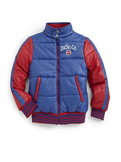 Diesel - Toddler's & Little Boy's Reversible Nylon Bomber Jacket