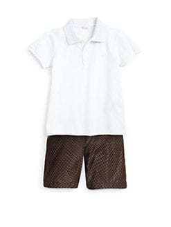Gucci - Toddler's & Little Boy's Pique Polo Shirt