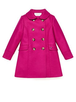 Gucci - Little Girl's Double-Breasted Coat
