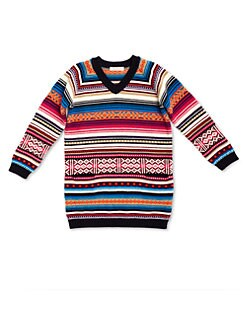 Gucci - Little Girl's Fair Isle Sweater