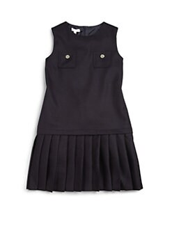 Gucci - Toddler's & Little Girl's Pleated Wool Dress