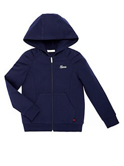 Gucci - Little Girl's Diamond-Quilted Hoodie