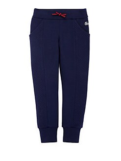 Gucci - Little Girl's Diamond-Quilted Jogging Pants