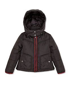 Gucci - Little Girl's Hooded Nylon Jacket