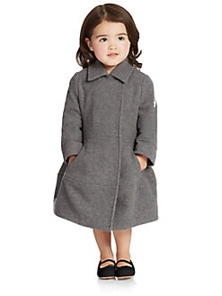 Armani Junior - Toddler's & Little Girl's Wool Dress Coat