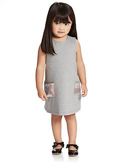 Armani Junior - Toddler's & Little Girl's Sequin Sweater Dress
