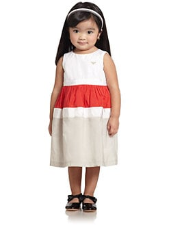 Armani Junior - Toddler's & Little Girl's Colorblock Dress