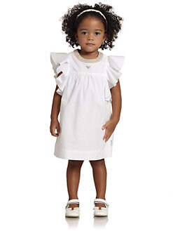 Armani Junior - Toddler's & Little Girl's Flutter Sleeve Dress