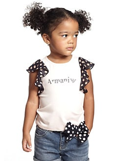 Armani Junior - Toddler's & Little Girl's Ruffle Tee