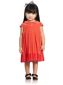 Armani Junior - Toddler's & Little Girl's Pleated Dress