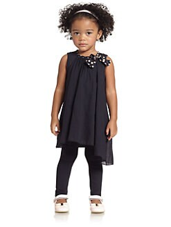 Armani Junior - Toddler's & Little Girl's Two-Piece Tunic & Leggings Set