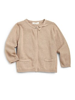 Marie Chantal - Toddler's & Little Girl's Bow Cardigan