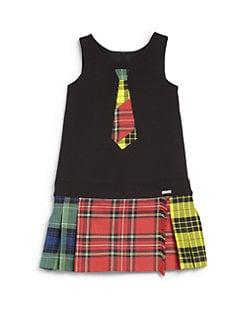 Junior Gaultier - Toddler's & Little Girl's Plaid Kilt Dress