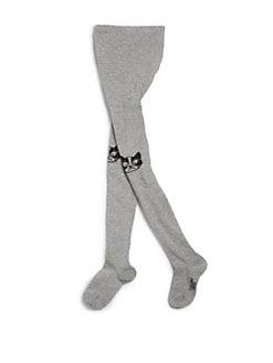 Little Marc Jacobs - Toddler's & Little Girl's Cat Knee Tights