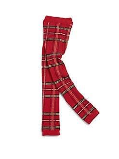 Junior Gaultier - Toddler's & Little Girl's Scottish Plaid Footless Tights