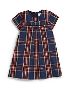 Baby CZ - Toddler's & Little Girl's Plaid Bow Dress