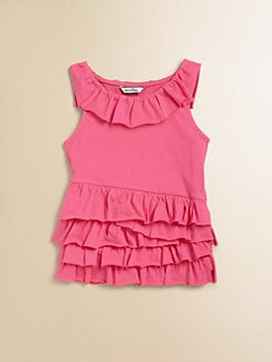 Hartstrings - Toddler's & Little Girl's Ruffled Top