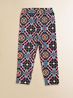 Hartstrings - Toddler's & Little Girl's Geometric Capris