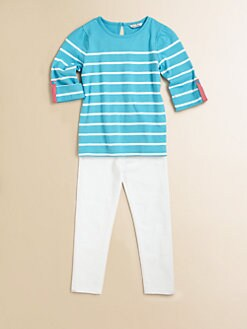 Hartstrings - Toddler's & Little Girl's Striped Cotton Tee