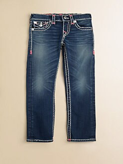 True Religion - Toddler's & Little Girl's Julie Super T Jeans