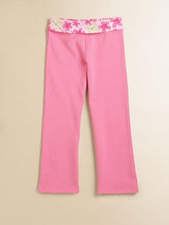 Lilly Pulitzer Kids - Toddler's & Little Girl's Zoe Floral-Waist Pants