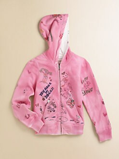 True Religion - Toddler's & Little Girl's Hand Drawn Cotton Hoodie