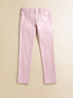 Joe's - Toddler's & Little Girl's Metallic Denim Leggings