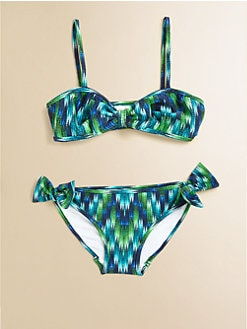 Milly Minis - Toddler's & Little Girl's Two-Piece Mini Sagaponack Bikini