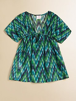 Milly Minis - Toddler's & Little Girl's Zig-Zag Coverup
