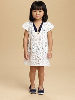 Milly Minis - Toddler's & Little Girl's Crochet Lace Coverup