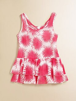 Milly Minis - Toddler's & Little Girl's Reese Ruffled Coverup