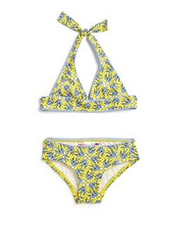 Juicy Couture - Toddler's & Little Girl's Little Love Birds Bikini