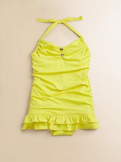 Juicy Couture - Toddler's & Little Girl's Little Miss Divine Swimdress