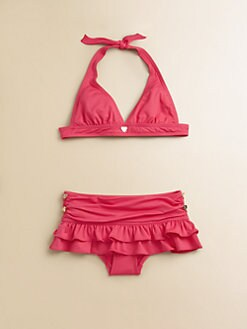 Juicy Couture - Toddler's & Little Girl's Little Miss Divine Bikini
