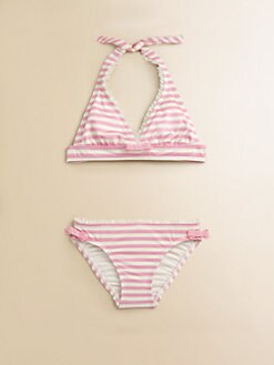 Juicy Couture - Toddler's & Little Girl's Petit Stripe Bikini