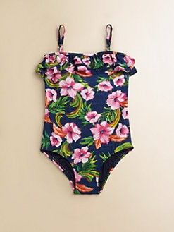 Juicy Couture - Toddler's & Little Girl's Wildflower Maillot
