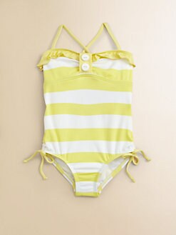 Splendid - Toddler's & Little Girl's Marcel Striped One-Piece Swimsuit