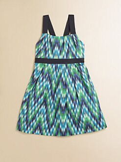 Milly Minis - Toddler's & Little Girl's Zig-Zag Party Dress